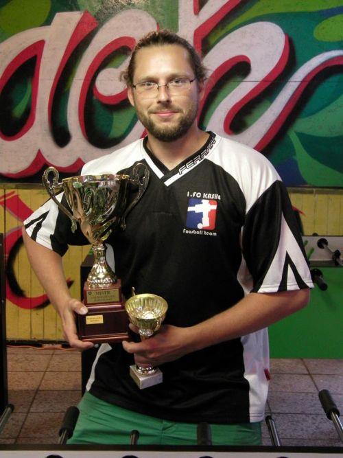 Mistr ligy Martin Ouda
